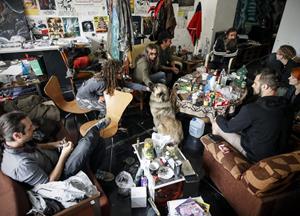 FOTO:Deložacijo Sokolca preprečila napaka sodišča